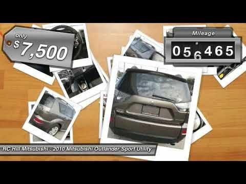2010 Mitsubishi Outlander DeLand Daytona Orlando AZ018576