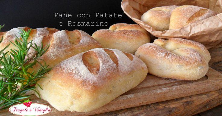 Il Pane con Patate e Rosmarino, è un tipo di pane molto morbido e saporito con farina di semola e rosmarino tritato nell'impasto.