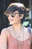 Image detail for -Vanessa hudgens short hair style photos    I'm not crazy about that huge chunk in front of the eyes, but I like how it tucks behind the ears.