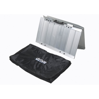 @Overstock - This handy portable wheelchair ramp makes it easy to transport anyone who needs a wheelchair or a scooter. The durable ramp is lightweight and folds to fit in the carrying bag. It features perforated slots that keep water from collecting on the ramp.http://www.overstock.com/Health-Beauty/Portable-Wheelchair-Scooter-Ramp-with-Carry-Handle-and-Travel-Bag/7278480/product.html?CID=214117 CAD              143.87