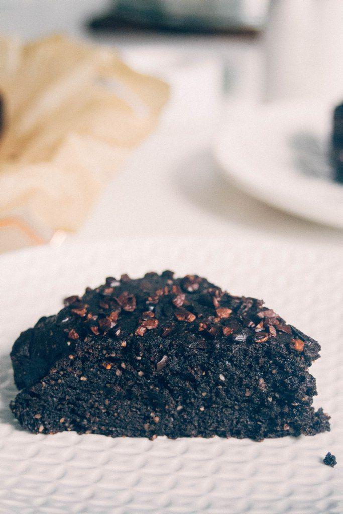 Η συνταγή μου φιλοξενείται στο melisoula.gr! Κέικ μαύρης σοκολάτας με λάδι καρύδας, αγαύη και αλεύρι αμυγδάλου από τη Βίκυ Γρίβα | MeliSoula