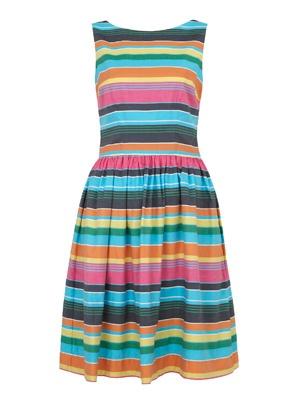 Multistriped Dress