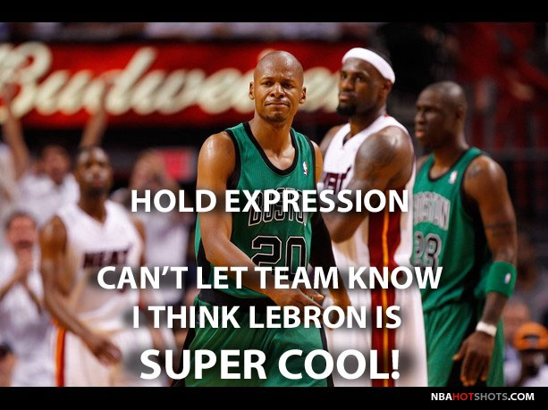 even though i hate the fact that ray allen now plays for the heat..i thought this was funny lol