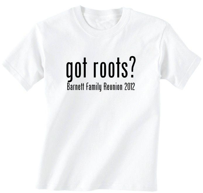 Family Reunion T Shirt Design