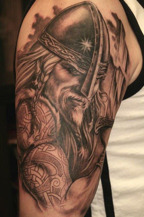 Tatuagem Guerreiro Nordico