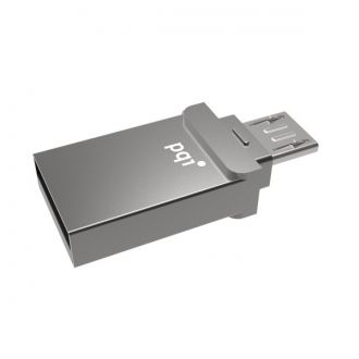 PQI Pendrive Connect 201 8GB Android USB/MicroUSB PQI Connect 201 to przenośna pamięć masowa w postaci pendrive o pojemności 8GB