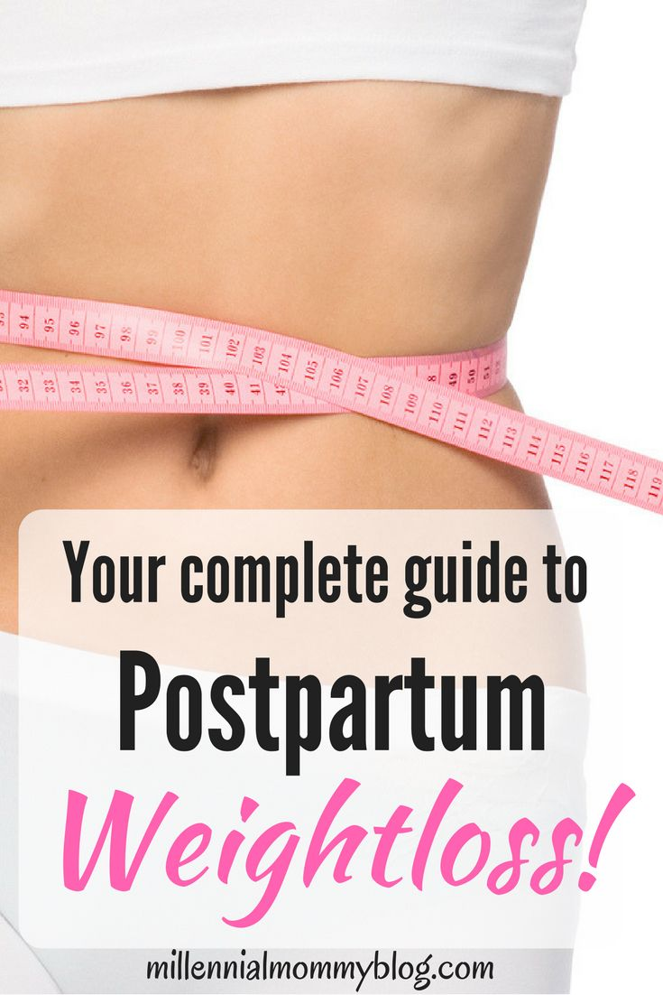 weight loss while breastfeeding