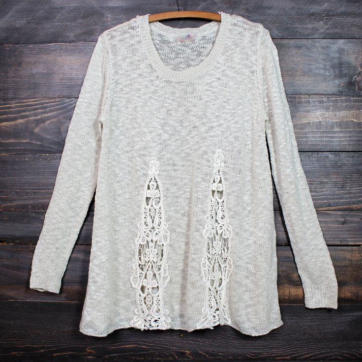 knitted boho sweater - shophearts - 1