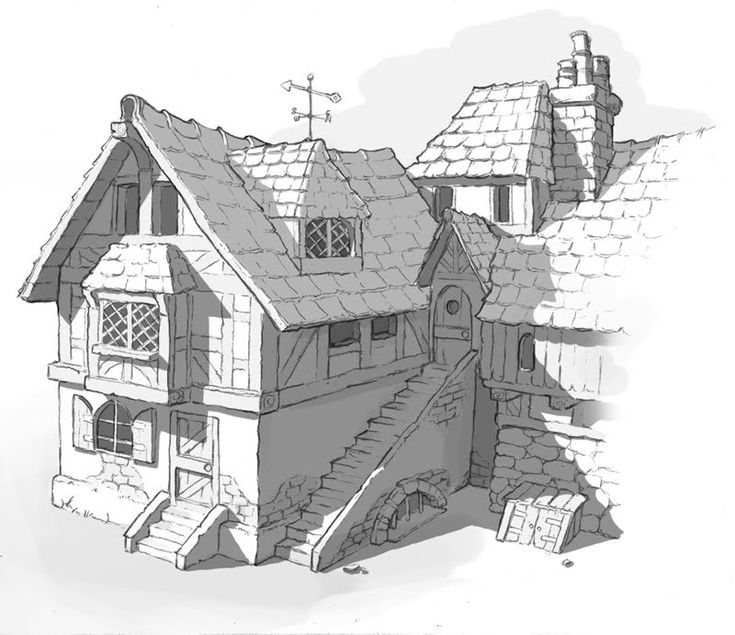 My journey into art: concept for a medieval houses ✤ || CHARACTER DESIGN REFERENCES | キャラクターデザイン | çizgi film • Find more at https://www.facebook.com/CharacterDesignReferences & http://www.pinterest.com/characterdesigh if you're looking for: bandes dessinées, dessin animé #animation #banda #desenhada #toons #manga #BD #historieta #sketch #how #to #draw #strip #fumetto #settei #fumetti #manhwa #anime #cartoni #animati #comics #cartoon || ✤