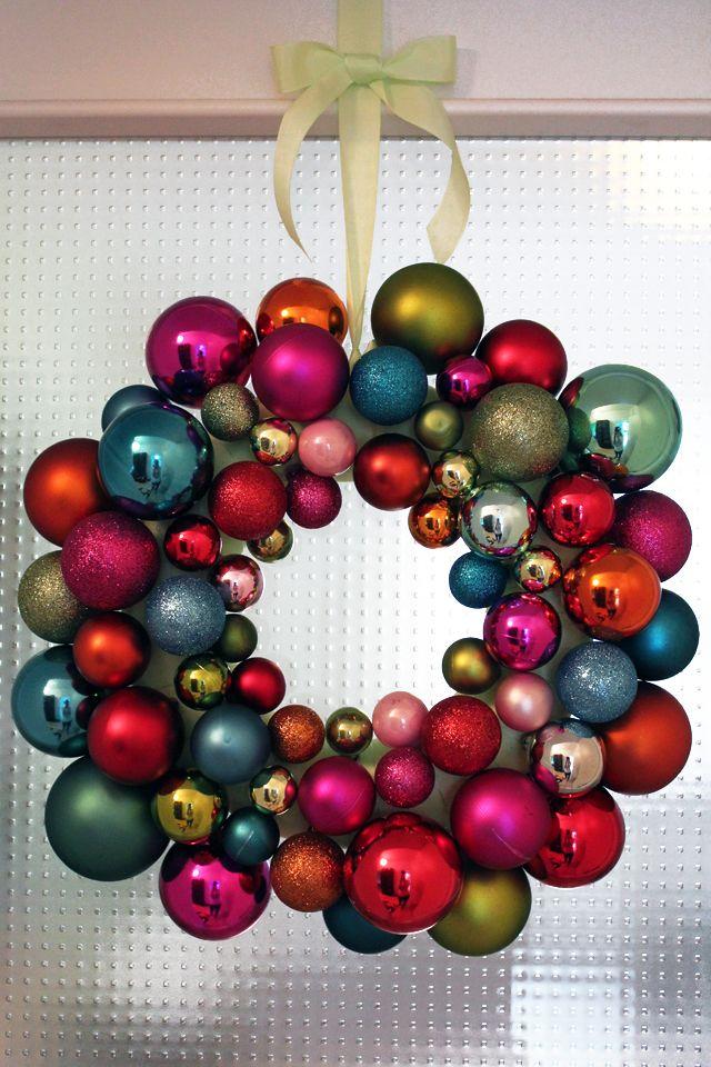 pardon me: DIY-Blogger-Adventskalender: Weihnachtskranz und Verlosung