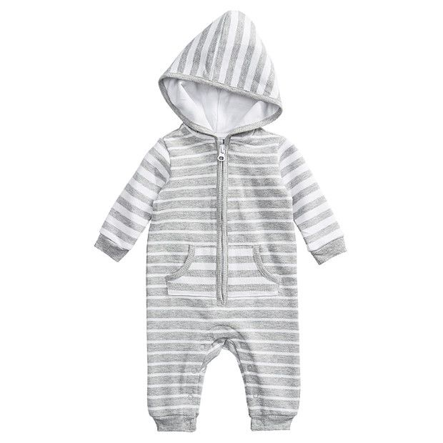 Unisex Coverall With Hood