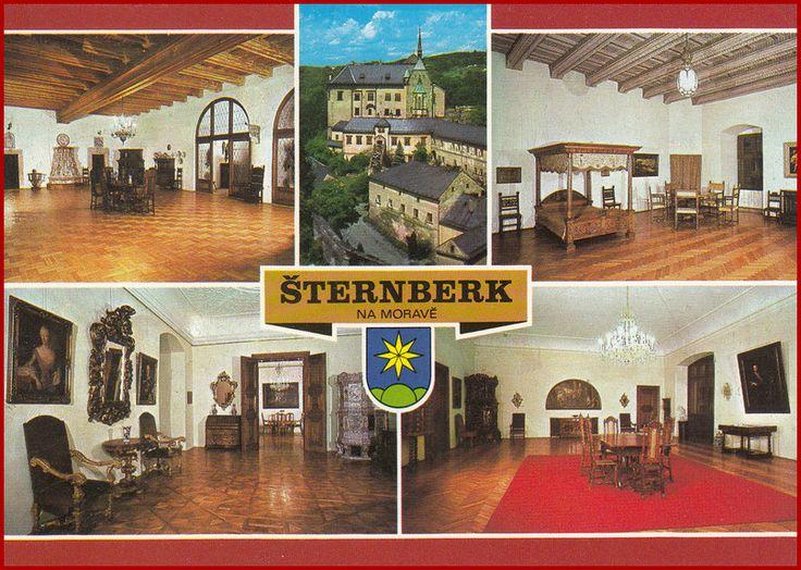 Šternberk * erb, zámek * Olomouc * BV2079