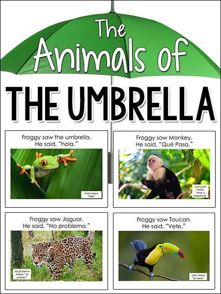 Animals of the Umbrella, Jan Brett                                                                                                                                                                                 More