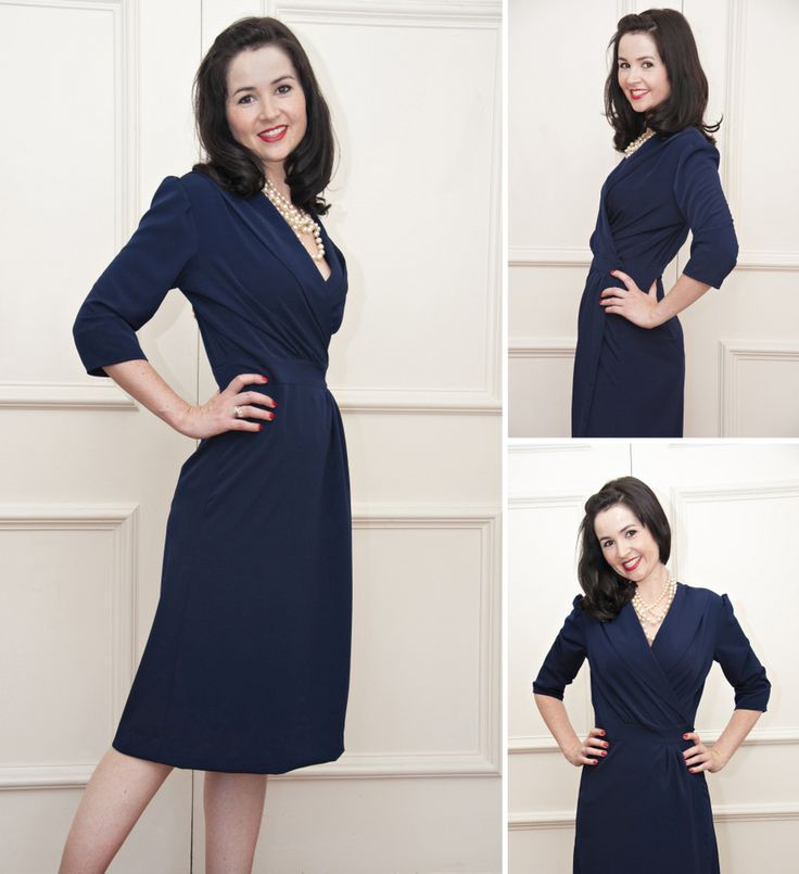 Ultimate Wrap Dress - Happy Stitches