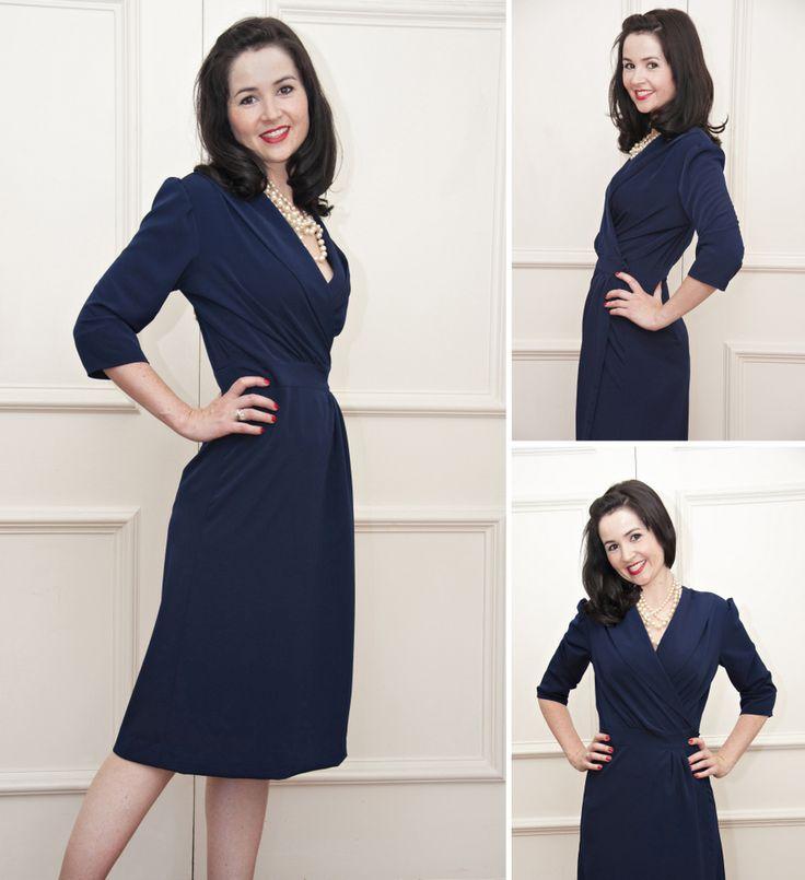 1940s wrap dress pattern