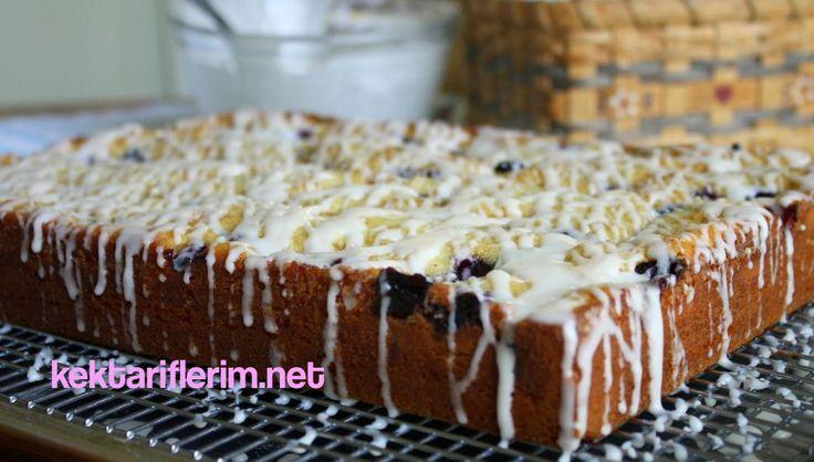 Böğürtlenli Kremalı Kek