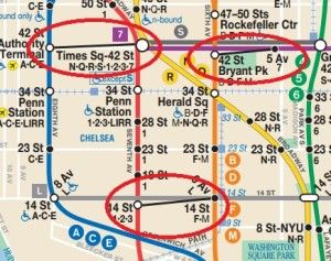 Helpful hints on navigating the New York subway. This beginner's guide will is a great intro to New York's subway system to help lessen your apprehension.
