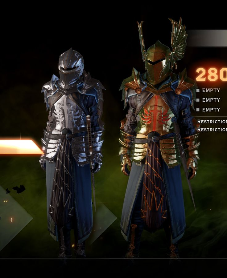 Dragon Age Inquisition Best Armor (Top List in 2019)