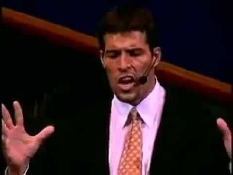 Tony Robbins  The power in your words!  Using Incantations