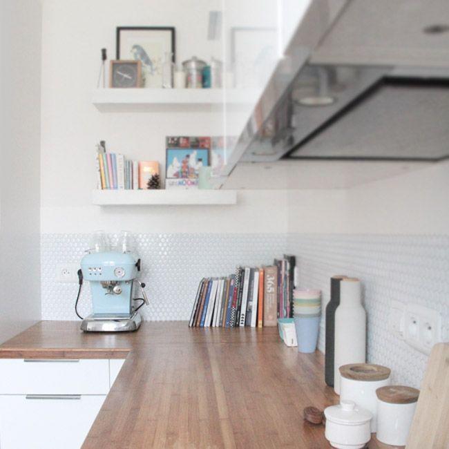 Poligöm / Une nouvelle crédence dans la cuisine