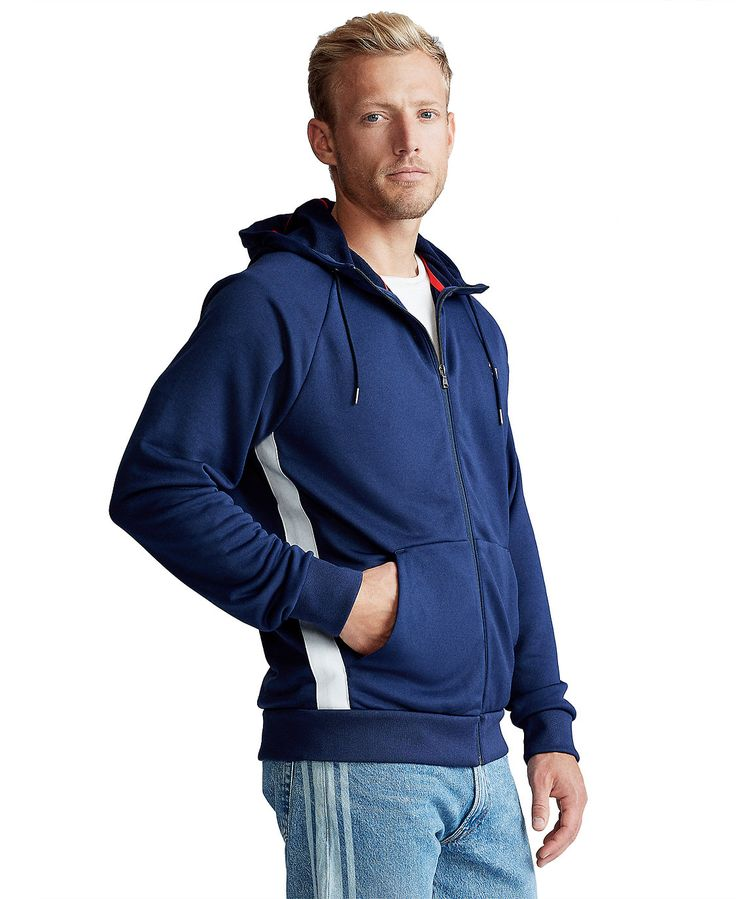Men's Performance French Terry Hoodie in 2020 Polo ralph