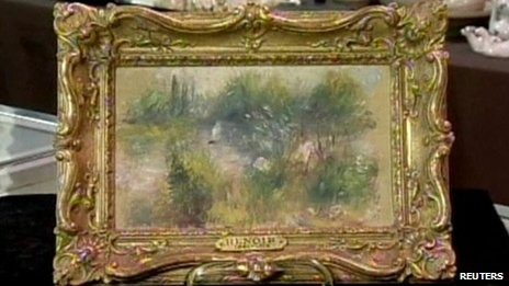 US woman snaps up $50 'Renoir' | Renoir paintings. Renoir. Painting