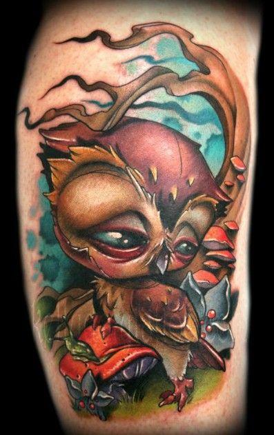 http://poundedink.com/top-tattoo-artists/wp-content/uploads/2012/08/Kelly-Doty-New-School-Owl-Tattoo.jpg