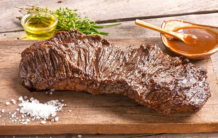 Basic Balsamic Flank Steak