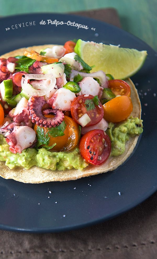 Octopus-Ceviche-de-Pulpo_with-avocado,-cherry-tomatoes-and-shallots_Yes,more-please!