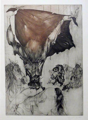Grafický list  - autor Karel Demel
