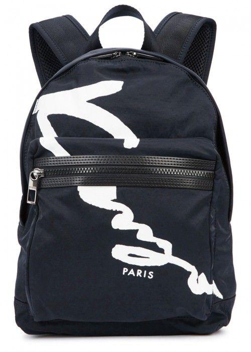 d3a7f2023a1 KENZO NAVY NYLON BACKPACK. #kenzo #bags #leather #canvas #nylon #backpacks  # | Kenzo Men | Rucksack backpack, Backpacks, Kenzo