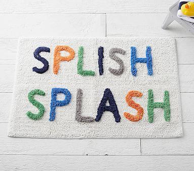Splish Splash Bath Mat #pbkids