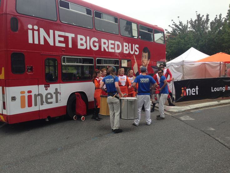 iinet Big Red Bus