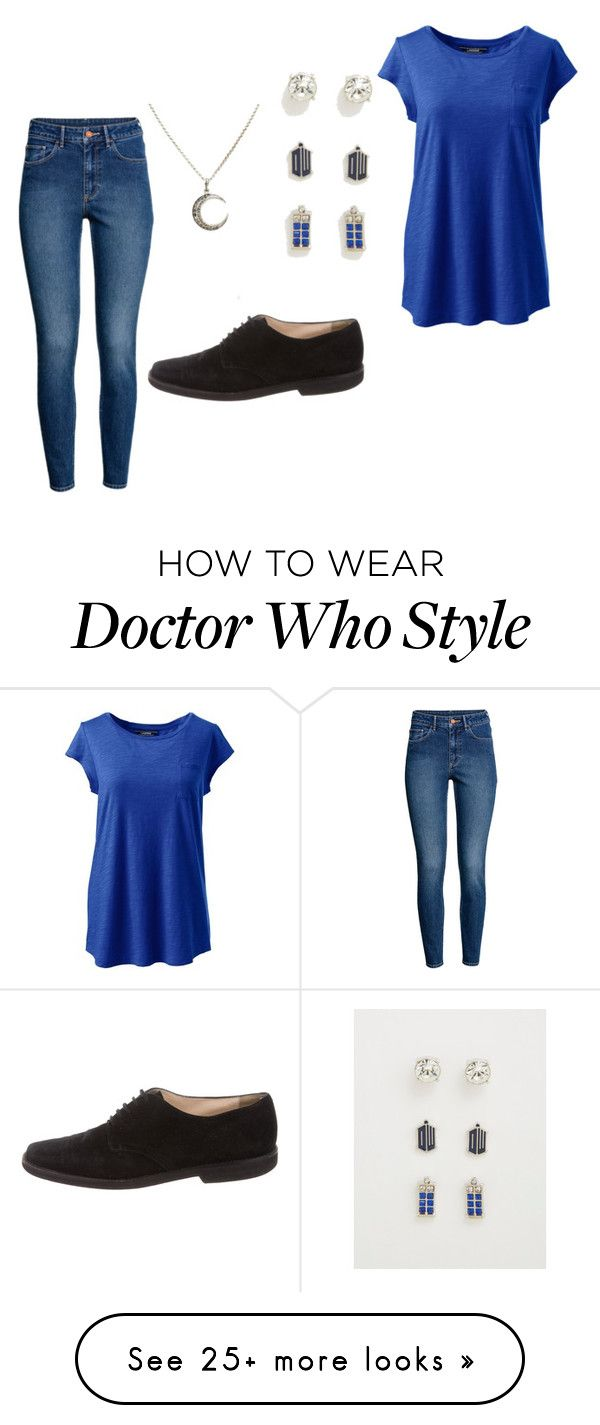 """doctor who"" by aliciabee203 on Polyvore featuring H&M, Torrid, Lands' End, Manolo Blahnik and plus size clothing"