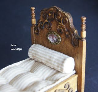 tutorial: miniature gothic style bed