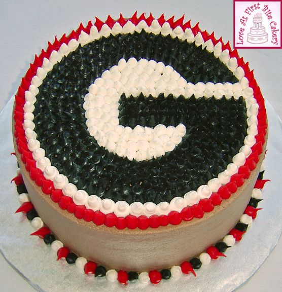 georgia bulldog cakes | Pin Florida Gators Basketball Roster 2010 Cake On Pinterest