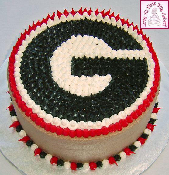 georgia bulldog cakes   Pin Florida Gators Basketball Roster 2010 Cake On Pinterest