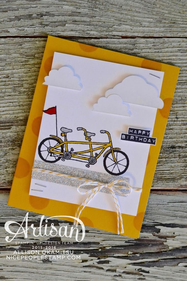 nice people STAMP!: Pedal Pusher & Metallics Glitter Tape: Sale-a-bration International Blog Hop