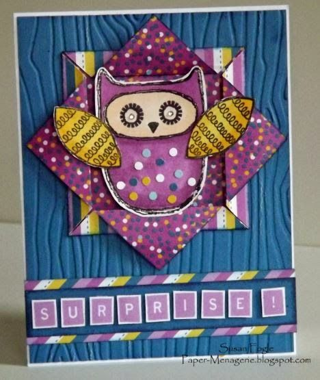 Paper Menagerie: Three Amigos August Blog Hop