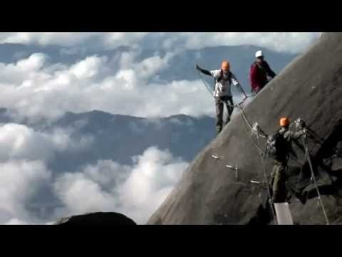 Video: Borneo Reisen - Besteigung Mt. Kinabalu - Via Ferrata