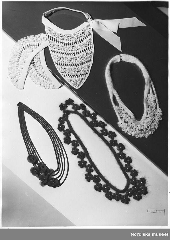 Accessoarer. Kragar, manschetter, isättningar. 1932.