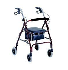 Merits Rollator 4 Wheels Aluminum Loop Blue - Model w462blue by Merits. $86.99. Merits Rollator 4 Wheels Aluminum Loop Blue - Model w462blue. Manufacturer: Merits - Model w462blue. Category: walkers/accessories. This item is sold by the each.. Merits Rollator 4 Wheels Aluminum Loop Blue - Model w462blueFinish Aluminum, Easy Squeeze, Aluminum Rollator, Pads Seats, Mobiles Aid, Loop Brake, Personalized Care, Adjustable Heights, Pads Backrest