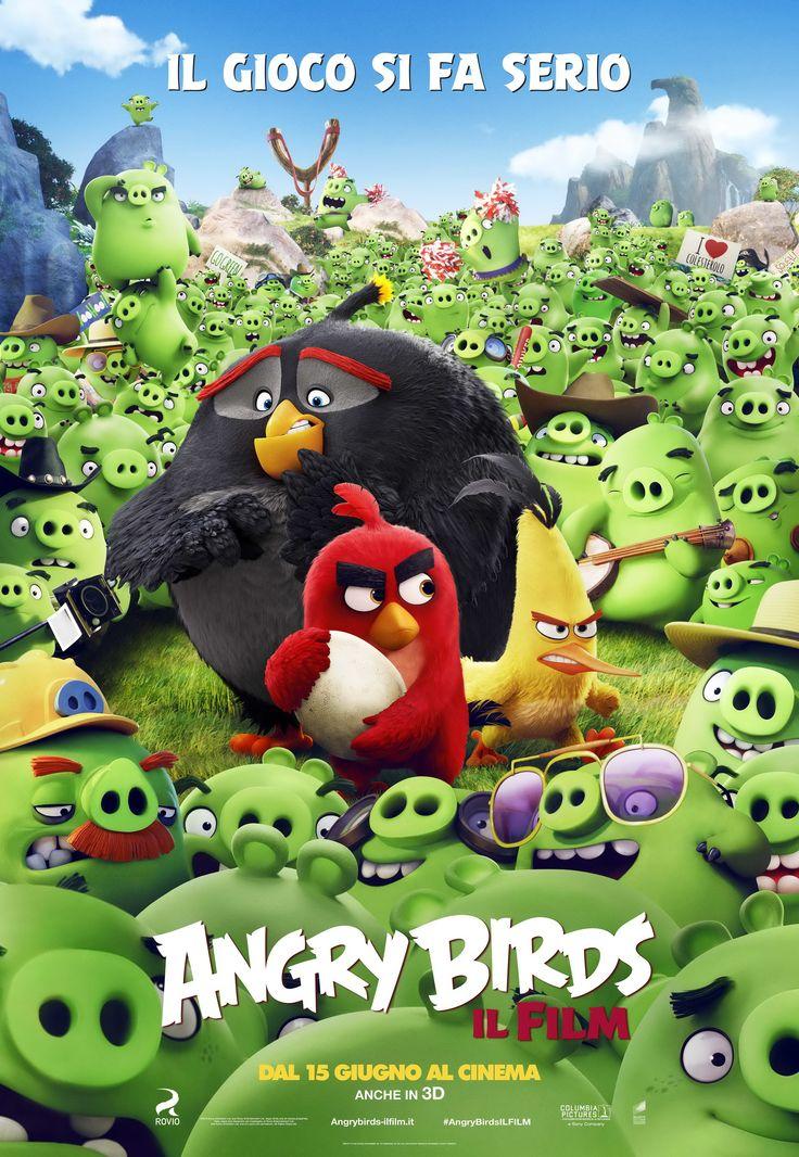 Angry Birds: ecco il poster ufficiale italiano del film di animazione