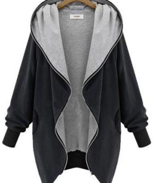 Women Plus Size Casual Jacket Warm Coat