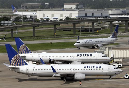 USA Today Network         Lucas Aulbach, The (Louisville) Courier-Journal                  7:40 a.m. ET April 10, 2017                United Airlines planes at George Bush Intercontinental Airport in Houston on July 8, 2015. A video posted on Facebook on Sunday, April 9, 2017, shows a... http://usa.swengen.com/video-shows-man-forcibly-removed-from-united-flight/