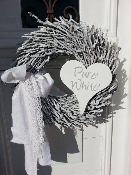 Pure white...
