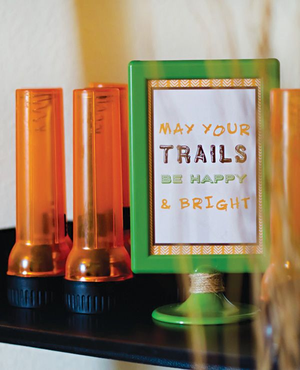 Happy Trails Rustic Campfire Birthday Party