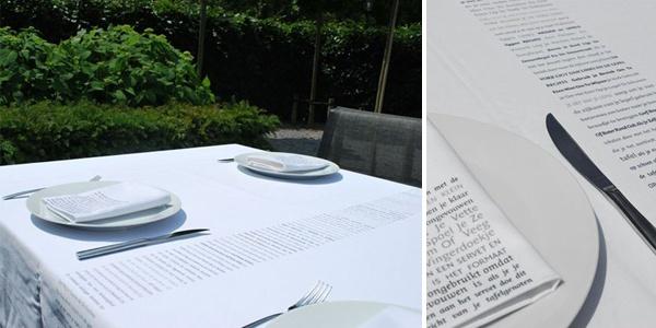 Ontwerp tafellinnen voor je bruiloft