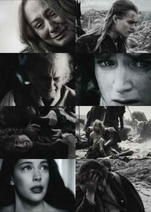 Faces that have witnessed tragedy.