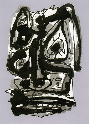 Antonio Saura. Emblemas, 1979. Serigrafía. Disfruta de esta obra en Arteinversión Galería